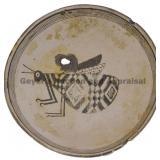 Grasshopper Mimbres Figural Bowl