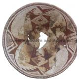 Mirrored Big Horn Sheep Mimbres Classic Bowl