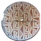 Repeating Staggered Geometric Mimbres Classic Bowl