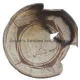 Sectioned In Fifths Geometric Mimbres Bowl