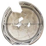 Quarted Alternating Rim Design Mimbres Bowl