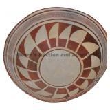 Fifteen Flag-Type Geometric Mimbres Classic Bowl