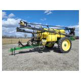 2009 Best Way 1600 gallon sprayer, 90