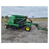 John Deere 1560 no till drill, small seed