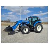 2013 New Holland T4.105, 367 hr, 1 owner
