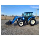 2013 New Holland T4.75, 1005 hr
