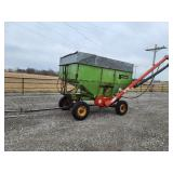 Parker gravity wagon with Westfield auger