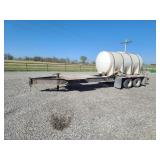 1600 gallon tender trailer with new pump