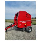 Massey Ferguson 1745 baler, very low bales!