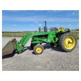 1969 John Deere 3020, side console, gas, 2 owners