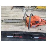 Husqvarna 55 chainsaw