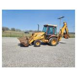 1988 Case 580K backhoe, 6616 hr, cab