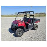2009 Polaris Ranger 700, 488 hr, 4x4, 3089 miles