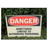 """Danger"" Sign"