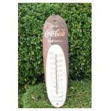 Vintage Collectible Coca-Cola Metal Thermometer