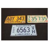 Collectible License Plates #4