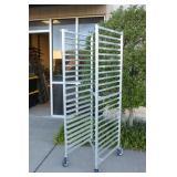 Lightweight Aluminum Rolling Multi-Use Rack