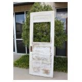 Antique Wooden Door - No Glass -
