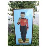 Outstanding Philip Morris Cardboard Cutout Framed