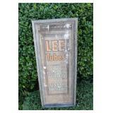 Lee Tubes Pqper Advertisement - Framed
