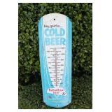 Vintage Ballentine Beer Advertisement Thermometer