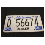 Collectible License Plate #12