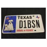 Collectible License Plate #14