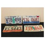 Collectible License Plates #17