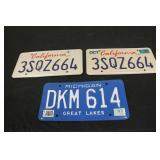 Collectible License Plates #18