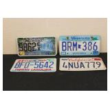 Collectible License Plates #19