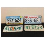 Collectible License Plates #20