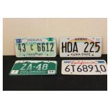 Collectible License Plates #21