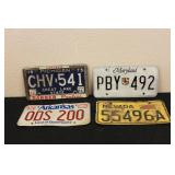 Collectible License Plates #22