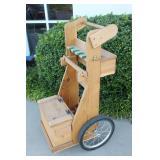 Skeet / Trap Shotgun Firearms Rolling Range Cart