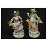 Pair of Collectible Porcelain Figurines