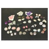 Large Lot of Constume Jewelry Earrings