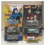 Mixed Lot of Super Hero Hot Wheels