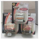 2001 Matchbox Coca-Cola Collector Cars