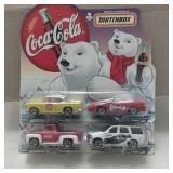 1999 Matchbox Coca-Cola Collector Cars