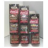 1998 Matchbox Coca-Cola Collector Cars