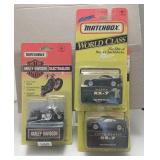 3 Mixed Series Matchbox Cars