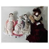 Lot of Antique Dolls