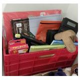 Crate of School/ Office Supplies