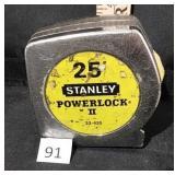 Stanley 25ft Tape Measure