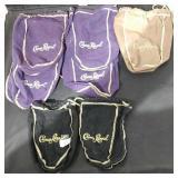 7 Crown Royal Bags