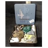 Fossil Watch Tin of Keys