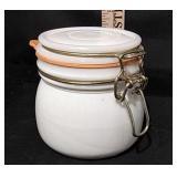 Milkglass Storage Jar