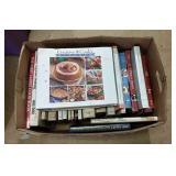 Box of Cookbooks