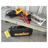 "DeWalt1/2"" VSR hammer drill Model DW505 and two masonry drill bits"