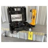 """Dewalt 3/8"""" VSR cordless right angle drill/driver Model DW966 with 2 batteries and charging station"""